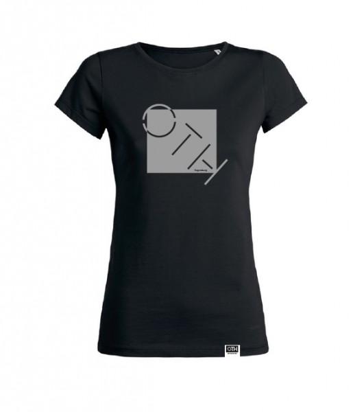 "Damen T-Shirt ""OTH"", schwarz"