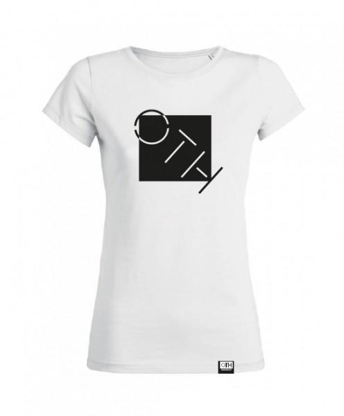"Damen T-Shirt ""OTH"", weiß"