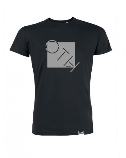"""Herren T-Shirt """"OTH"""", schwarz"""