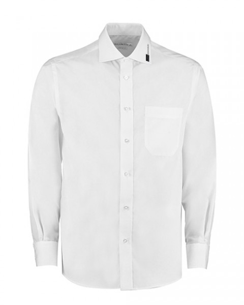 Hemd langarm, weiß (Classic Fit)